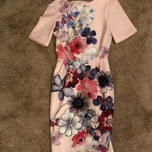 ASOS never worn with tags midi flower dress